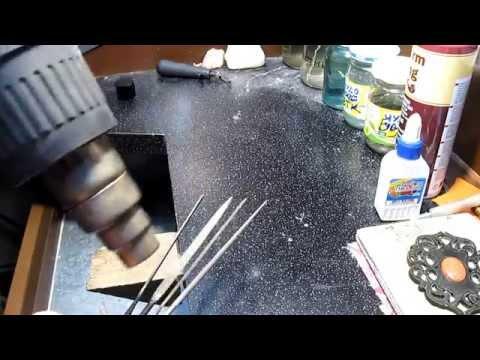 Как восстановить насечку на надфилях и напильниках