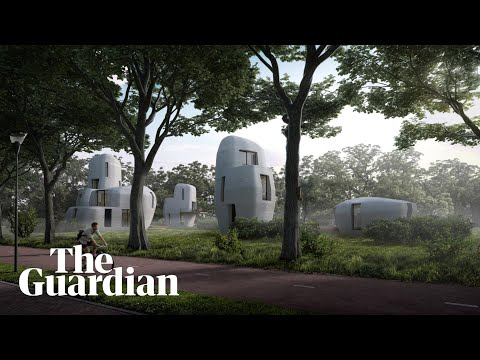 How the world's first habitable 3D printed houses are made
