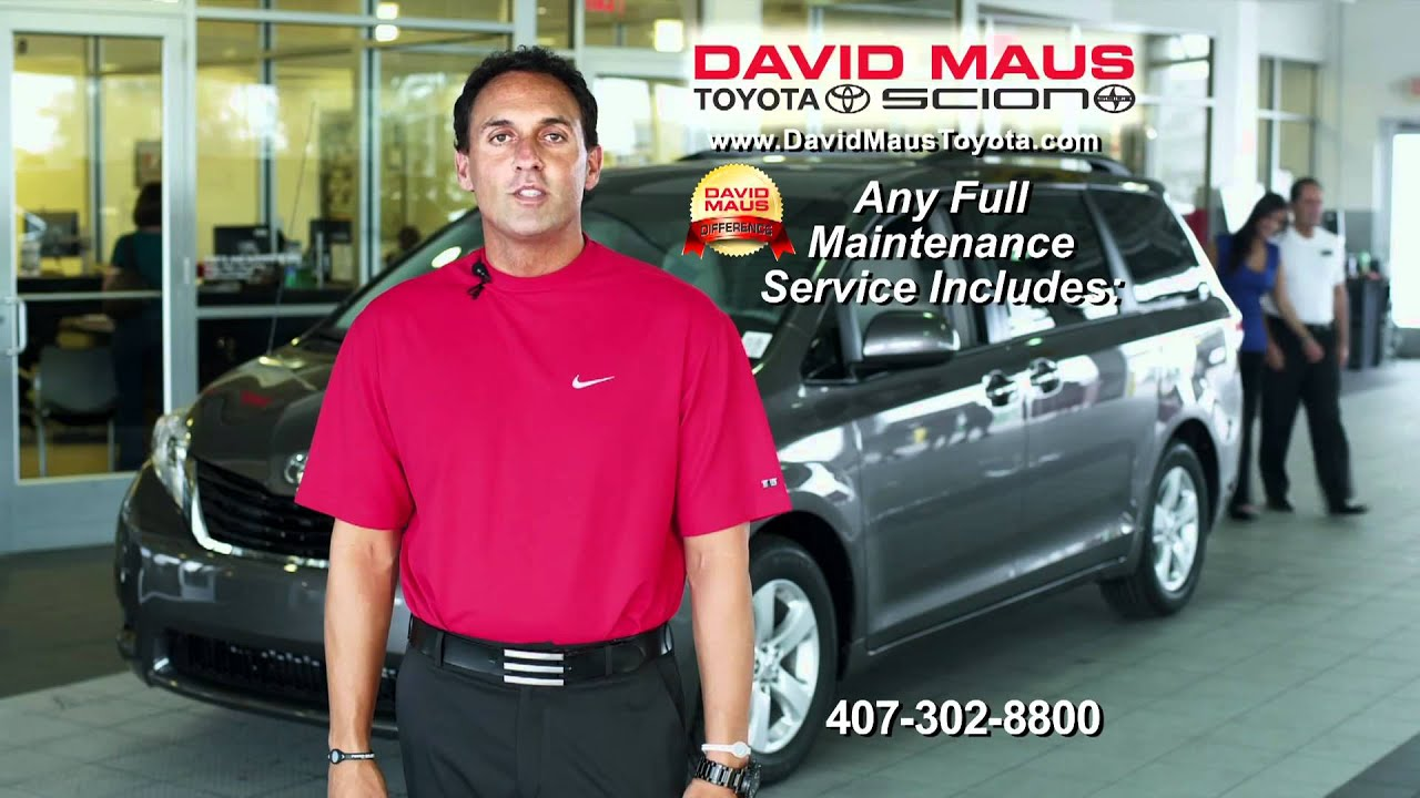 David Maus Toyota Commercial From September 2010 (30B)   YouTube