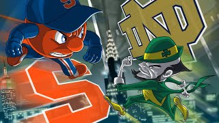 LIVE Week 12 Notre Dame vs Syracuse & College Football Playoff Ranking Preview