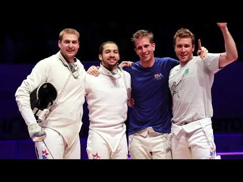 Olympic Sabre Fencing at OES (Oregon Episcopal School)