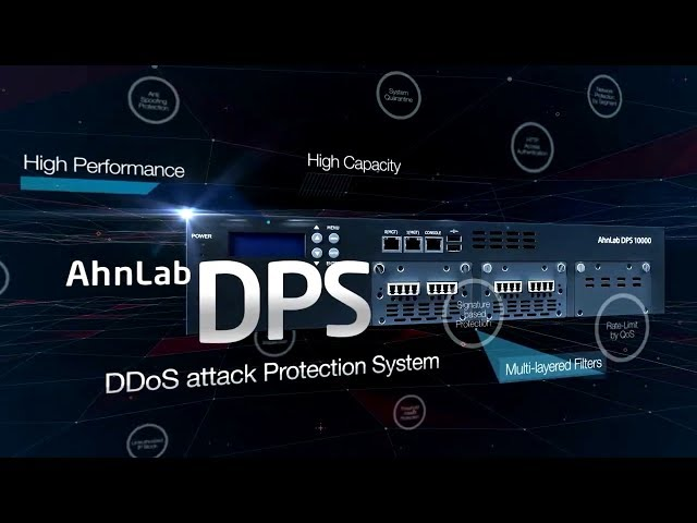 DDoS attack mitigation by AhnLab DPS : English = AhnLab_MDS_DPS_0825.1_MP4 (안랩)