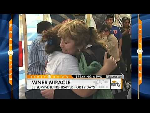 Trapped  Miners in Chile Still Alive after 17 Days