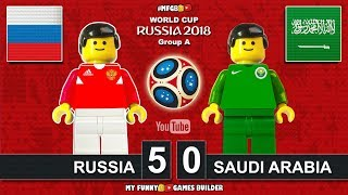 Download Video Russia vs Saudi Arabia 5-0 • World Cup 2018 (14/06/2018) All Goals Highlights Lego Football MP3 3GP MP4