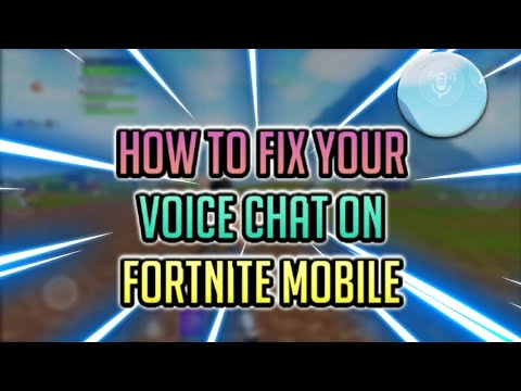 Fortnite Mobile & Switch Chat Issues Resolved | STEALTH