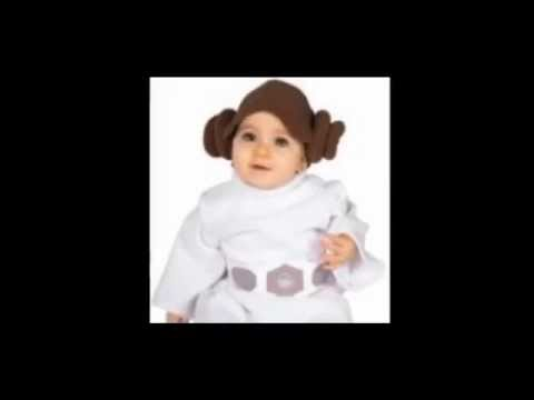 Baby Princess Leia Costume  sc 1 st  YouTube & Baby Princess Leia Costume - YouTube