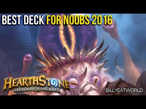 Hearthstone - Best Cheap Deck For New F2P Players 2016 - C'Thun Druid (Old Gods)