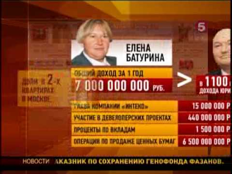 Download 090709 жена Лужкова - миллиардер