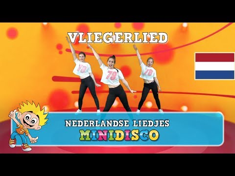 Vliegerlied   Nederlandse Kinderliedjes   DANS-INSTRUCTIE   Minidisco   NIEUW 2018
