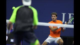 Pablo Carreno Busta vs Denis Shapovalov | US Open 2020 Quarterfinal