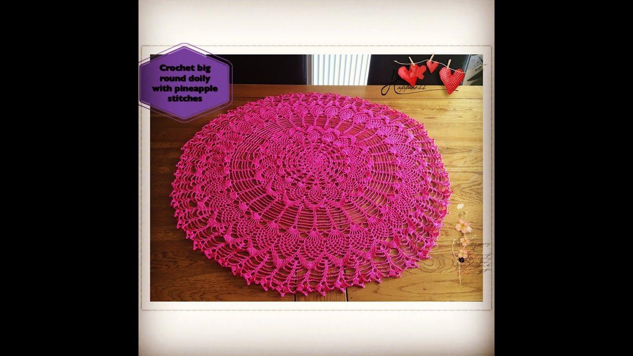 Wood Violet Star Pineapple Doily Crochet Pattern Pineapple Treasures HOWB