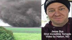 Incredible Tornado Video Near Hatton, ND & Interview With The Man Who Shot It