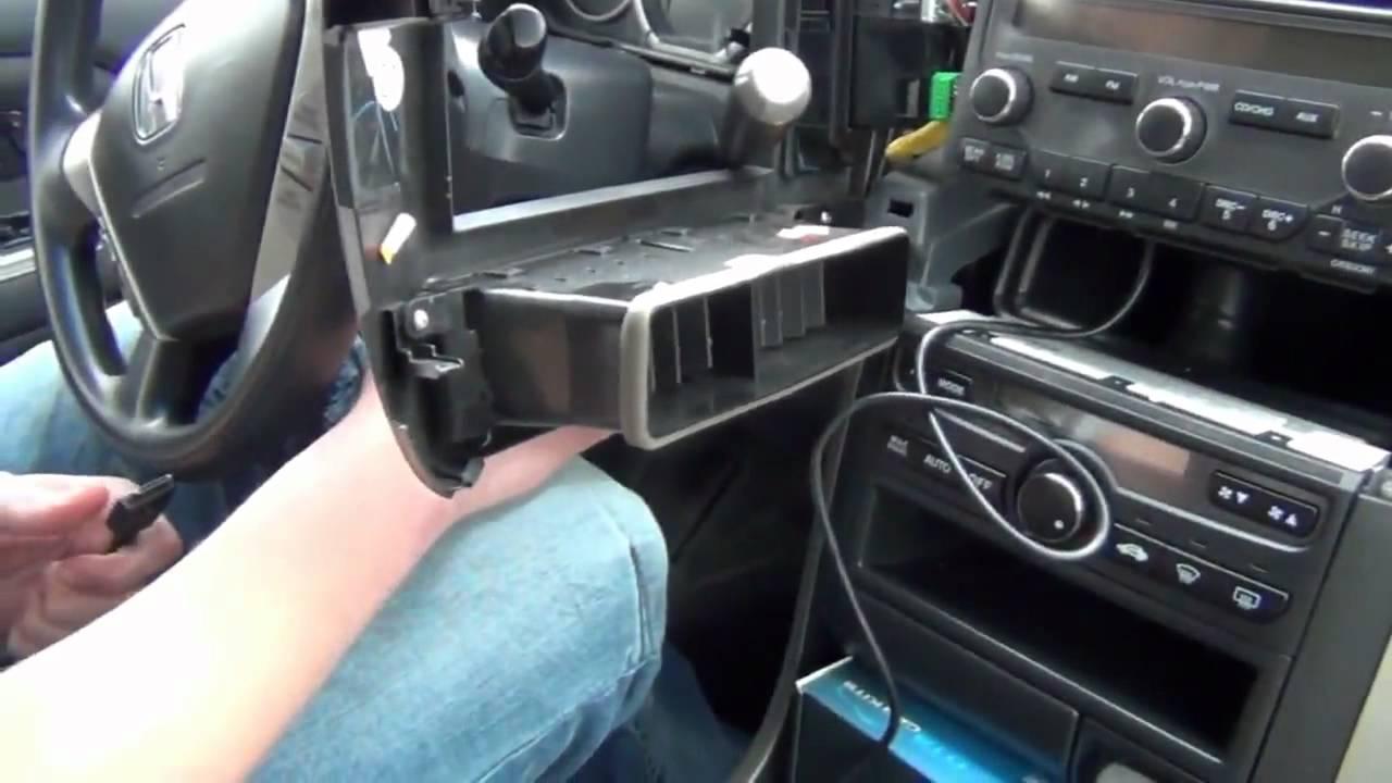 2003 Honda Odyssey Wiring Diagram Gta Car Kits Honda Pilot 2003 2008 Install Of Iphone