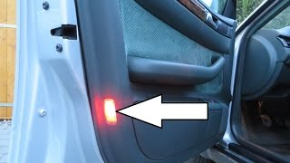 Audi A6, S6, RS6, Allroad C5 1997-2004 - How To Remove the Door Light