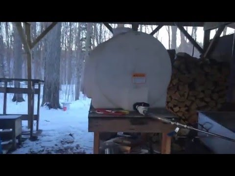 Some Of My Maple Syrup Equipment