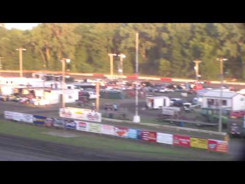 Late Model Heat 2 @ Hamilton County Speedway 07/09/16