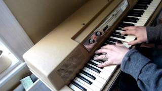 Off The Wall by Michael Jackson for Wurlitzer electric piano