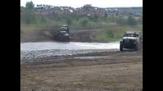 Автокросс на грузовиках в г. Реж  2012