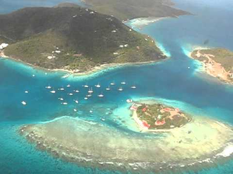 Taking off from Beef Island, BVI, Feb 2007