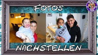 PEINLICHE Kinderfotos NACHSTELLEN - Family Fun