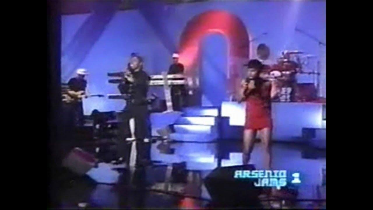Toni Braxton And Babyface Arsenio Hall
