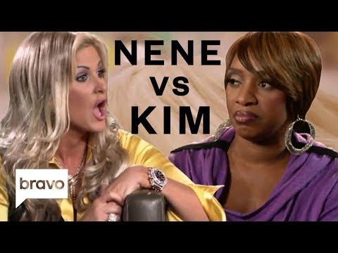 Best Nene Leakes vs. Kim Zolciak-Biermann Moments | Real Housewives of Atlanta | Bravo