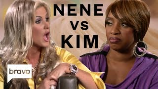 Best Nene Leakes vs. Kim Zolciak-Biermann Moments | Real Housewives of Atlanta | Bravo