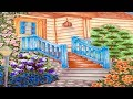 Warm Cozy Japanese Small Cottage House Garden Porch Landscape Inspiration | Home Garden Design Ideas