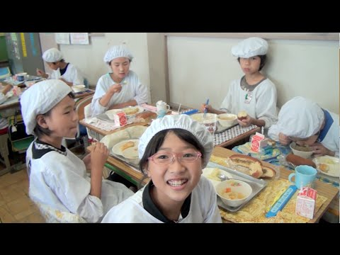 School Lunch in Japan - It