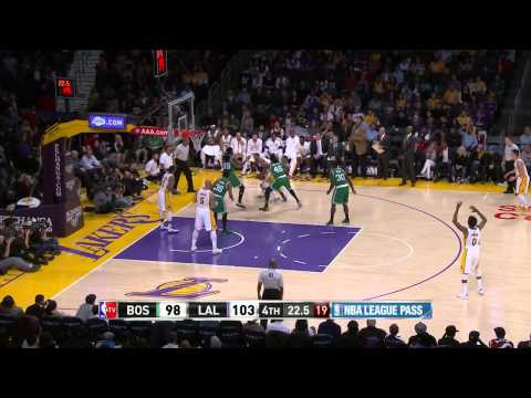 Boston Celtics vs Los Angeles Lakers | February 22, 2015 | NBA 2014-15 Season