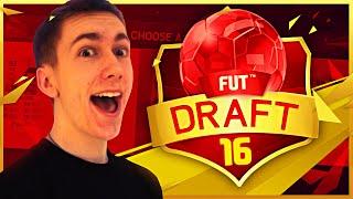 INSANE ATTEMPT!   FIFA 16 DRAFT MODE!