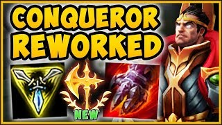 wtf riot reworked conqueror on darius makes him 100 unbeatable darius gameplay league of legends