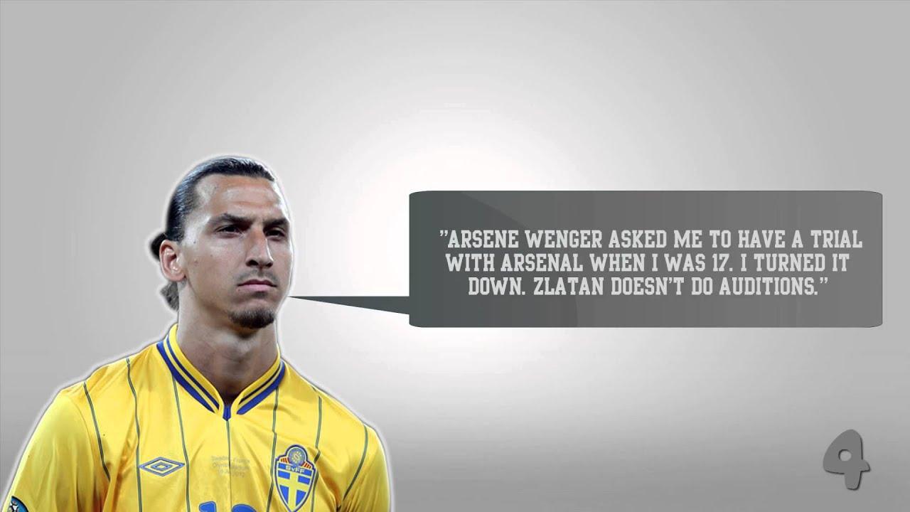 10 Best Zlatan Ibrahimovic Quotes  YouTube