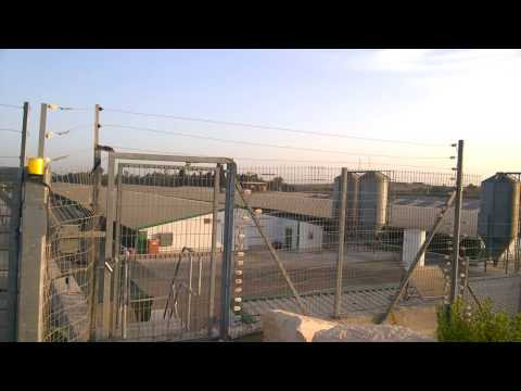 Poultry farm in Israel - Electric Fence Bio-security