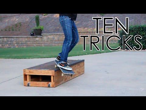 10 Skate Tricks with Nick Bramlett
