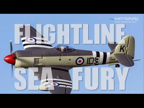 Flightline 1200mm Hawker Sea Fury Flight Review