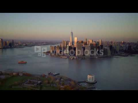 city skyline view urban metropolis cityscape new york city landmark e0hdyabql