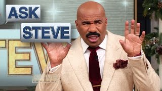 Ask Steve: How to get a man || STEVE HARVEY
