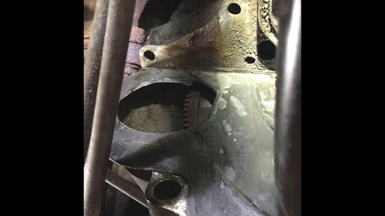 Broken starter bolt removal on GMC 5 7l