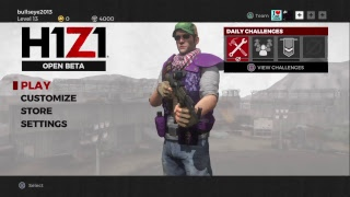 (H1Z1: Battle Royale) Open Beta playing FIVES W/friends in my town also David enjoy