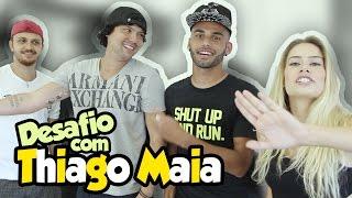 DESAFIO F4L - Thiago Maia, volante do Santos F.C. #03