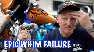 Harley Boom Box WHIM Failed After 1 Year-Recall Coming?