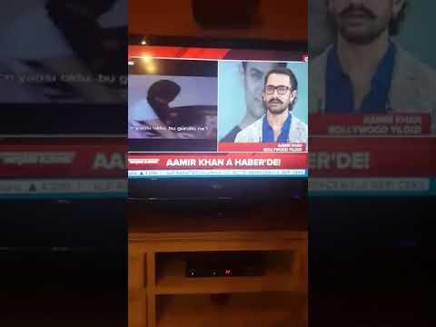 Aamir Khan Türkiye'de!  Canlı yayında Part 1 (Aamir Khan in Turkey for SecretSuperstar #1 ITS LIVE!