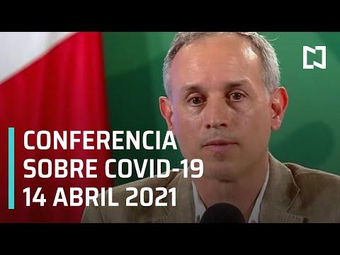 Informe Diario Covid-19 en México - 14 abril 2021