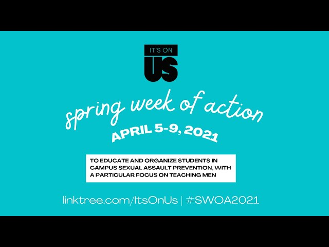 Spring Week of Action: The Prevention Of Non-consensual Photo Sharing