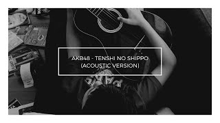Tenshi no Shippo (AKB48) - Franzeska Edelyn's ft Diaz (Acoustic Cover) With Lyric