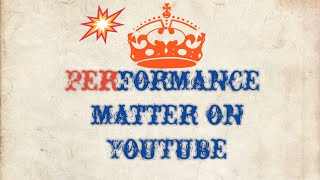 how to check videos performance of YouTube!!! On YouTube knowledge channel