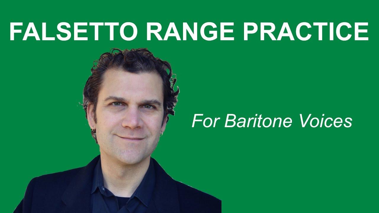 How to Sing Falsetto - Baritone Range - YouTube