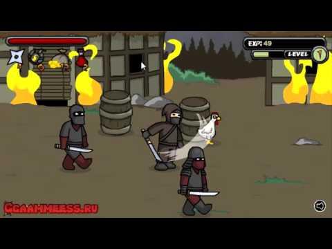 Игры драки, Игра Ниндзя защитник деревни