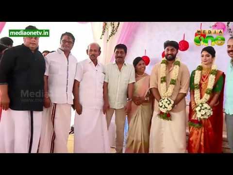 Actor Dhyan Sreenivasan ties knot